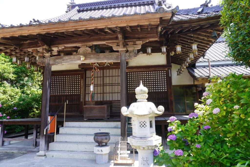 神宮寺(あじさい寺)