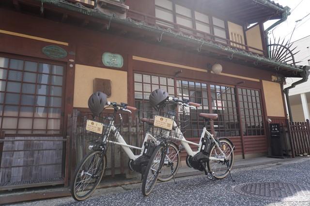府中市観光協会レンタサイクルの写真